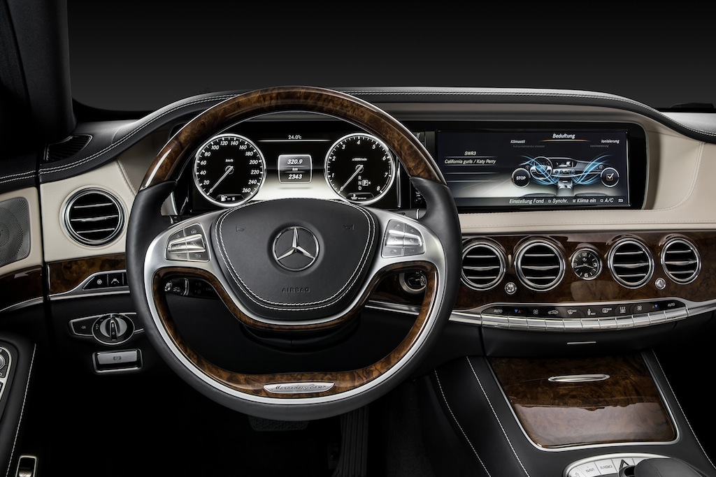 mercedes s class of 2013 photo