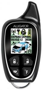 car alarm alligator