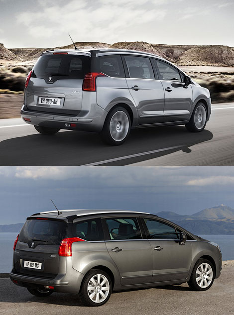 Minivan Peugeot 5008 gets a new design