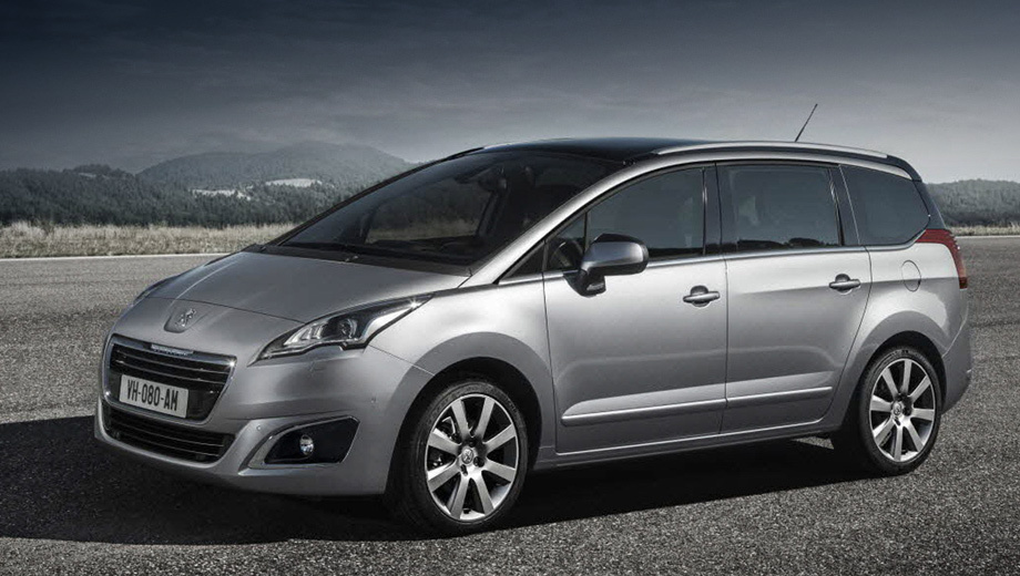 The company Peugeot has shown renewed compact MPV 5008