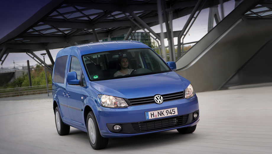 Volkswagen improved compact MPV Caddy BlueMotion