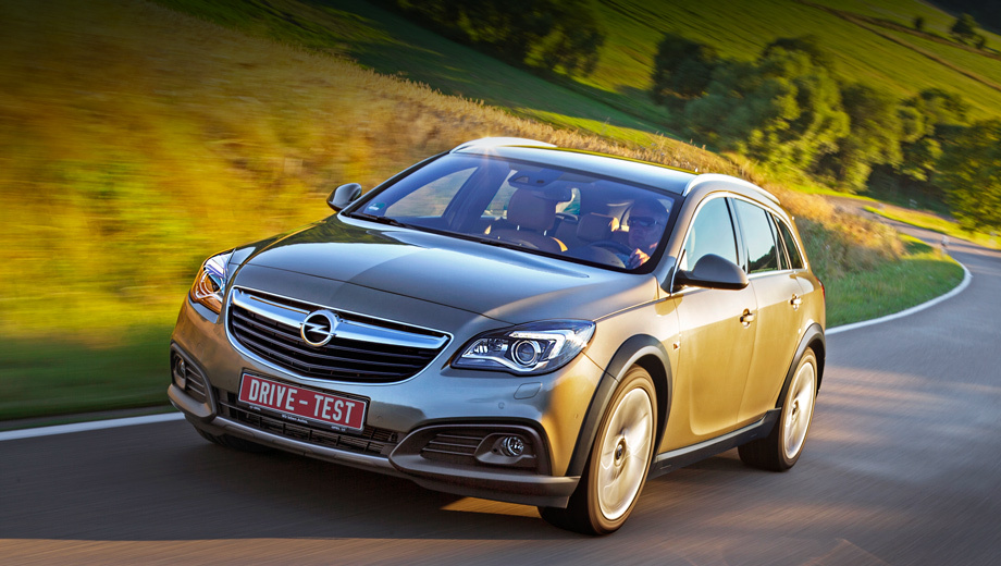Listen to the changes restyled model Opel Insignia