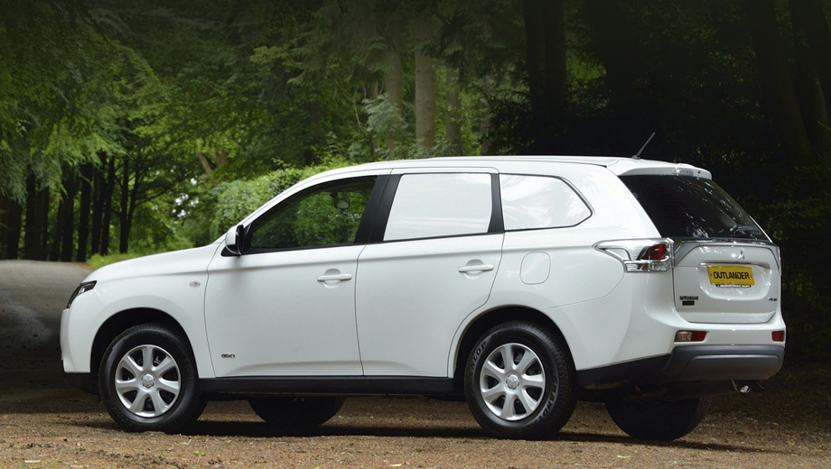 Mitsubishi will launch in Europe model Outlander Commercial