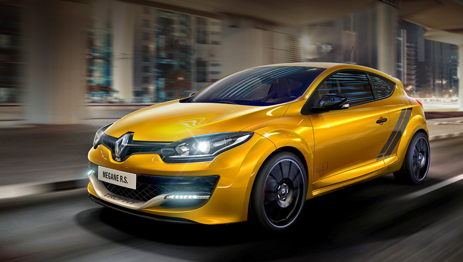 Hot hatch Renault Megane RS Trophy has slightly increased in power