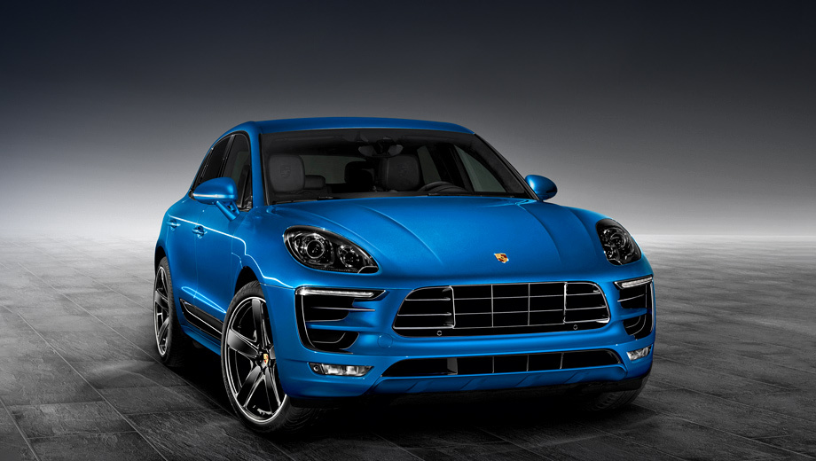 In Porsche has prepared a package of completions for crossover Macan
