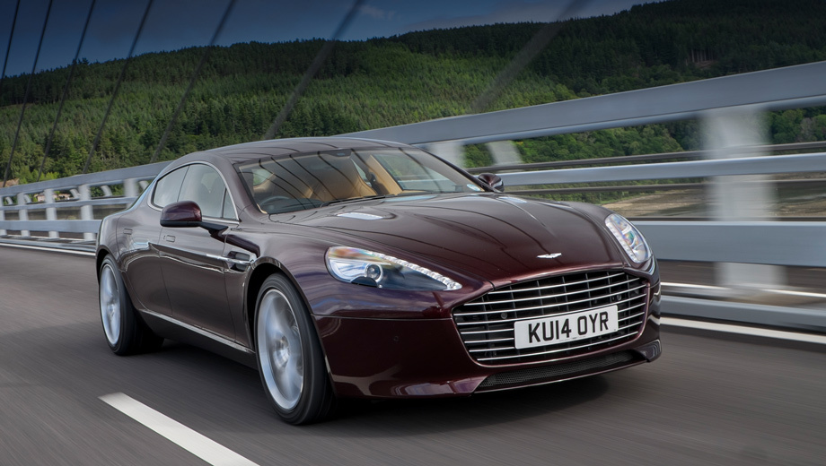 "The sports car Aston Martin Vanquish and Rapide S has allocated a new ""machine"""
