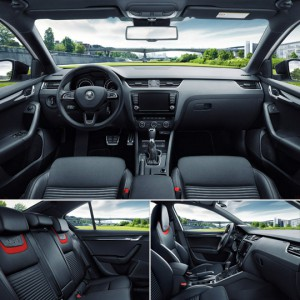 Beauty and sports steering Skoda Octavia RS