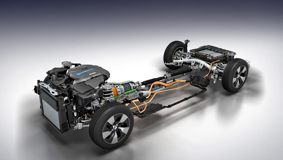 Presents two new hybrid power plant for BMW