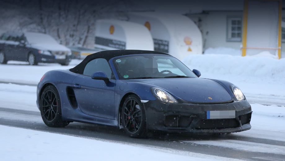 Roadster Porsche Boxster RS will take the place of the older modification
