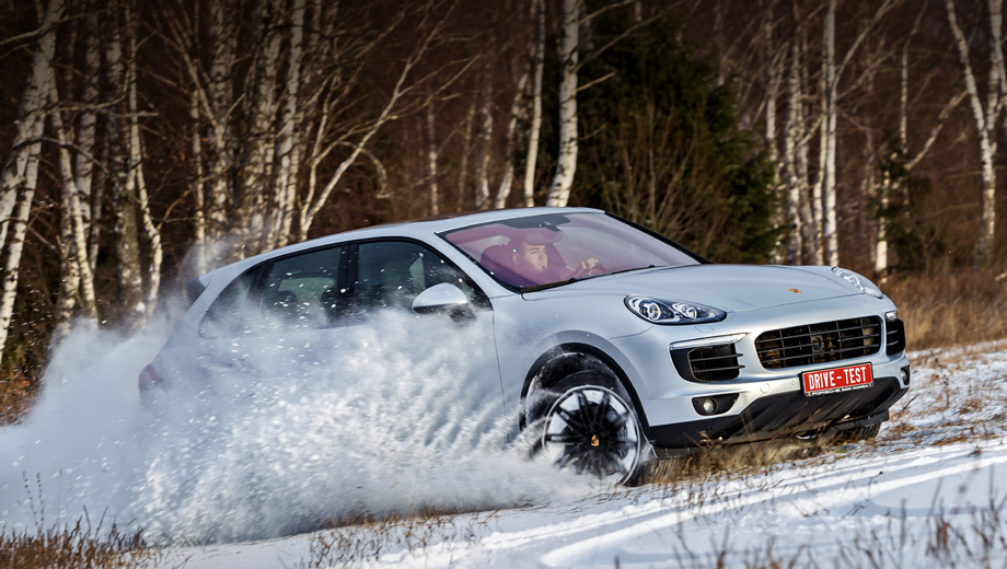 Talk in low tones with supercharged Porsche Cayenne S