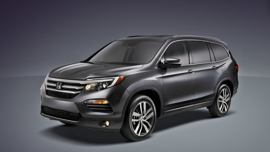 Crossover Honda Pilot has changed beyond recognition