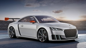 The hatch Audi TT turned festival for 600-horsepower sports car