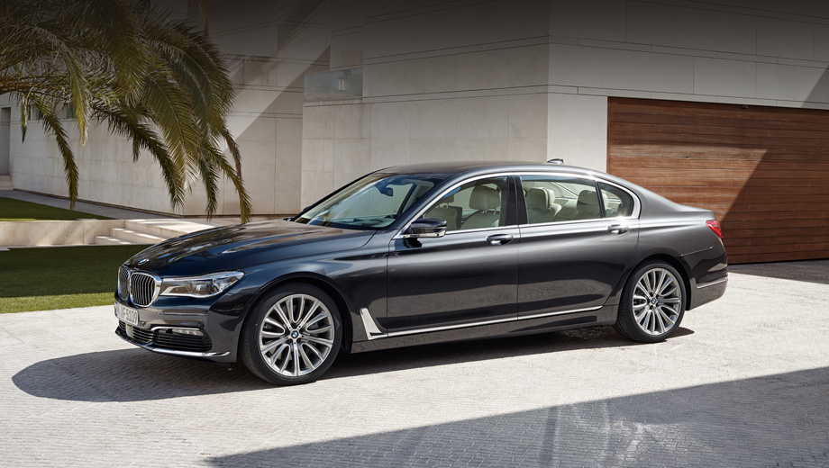 Sedan BMW seven series turned out to be more expensive than major competitors