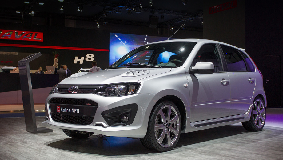 Sportivnaya Lada Kalina NFR will be on sale in November
