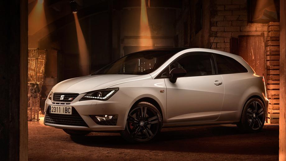 Hot hatch Seat Ibiza Cupra bestowed a more powerful engine