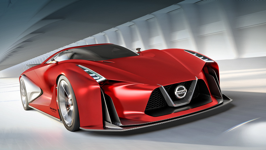 Nissanusa updated the prototype of the future sports car GT