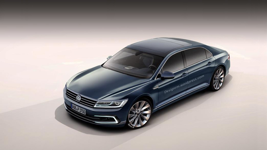 Sedan Volkswagen Phaeton will get an electric version