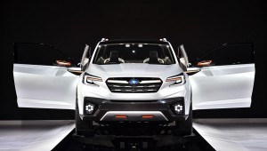 The heir of the Subaru Tribeca crossover will appear in 2018