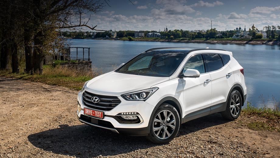 Look at the updates of crossover Hyundai Santa Fe