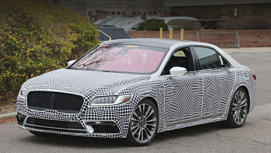 Serial Lincoln Continental will be shown in Detroit