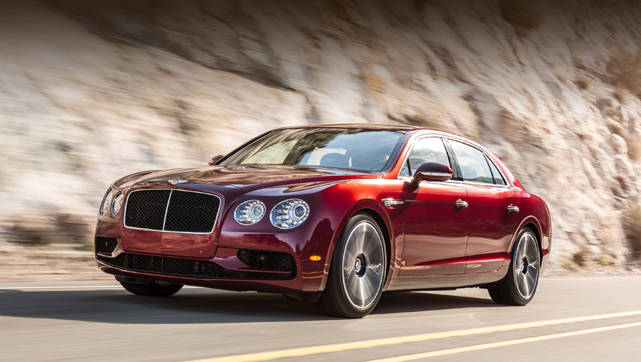 Sedan Bentley Flying Spur V8 S followed in the footsteps of the coupe