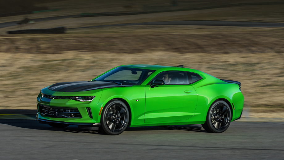 "The Creator of the coupe Chevrolet Camaro think of ""heated"" version 2"